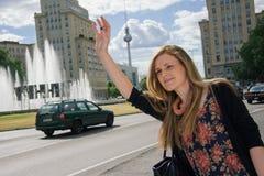 Fêmea profissional urbana Imagem de Stock Royalty Free