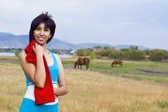 Fêmea saudável Fotos de Stock