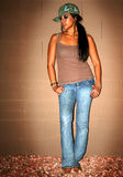 Fêmea urbana quente Imagem de Stock Royalty Free