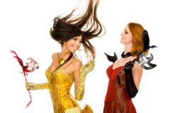 Fêmeas brincalhão Imagens de Stock Royalty Free