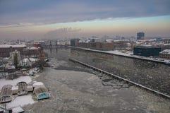 Fête à Berlin dans l'horaire d'hiver 9 Images stock