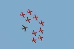 Fête aérienne Image libre de droits