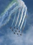 Fête aérienne Photographie stock libre de droits