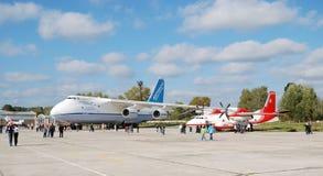 Fête aérienne dans Gostomel Photo stock