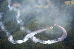 Fête aérienne de la puissance de l'air 2011 dans Zeltweg, Autriche Photos libres de droits