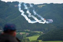 Fête aérienne de la puissance de l'air 2011 dans Zeltweg, Autriche Photos stock