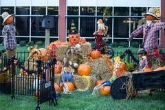 Fête au bureau de Halloween Images stock