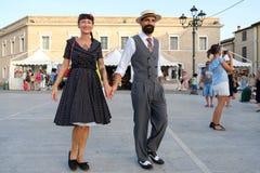 Fête d'été de l'Italie, Senigallia, 2017 Images libres de droits