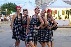 Fête d'été de l'Italie, Senigallia, 2017 Photo libre de droits