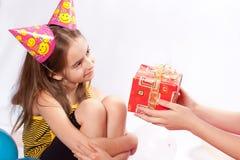 Fête d'anniversaire drôle Photo stock