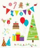 Fête de Noël illustration stock