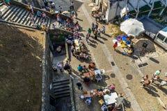 Fête de rue à Porto - au Portugal photographie stock libre de droits