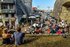 Fête de rue à Porto - au Portugal image stock