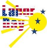 Fête du travail Etats-Unis Image stock