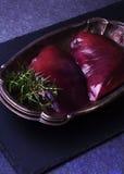 Fígado cru da carne Imagem de Stock