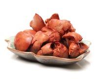 Fígado de galinha cozinhado imagem de stock royalty free