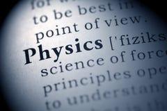 Física Fotografía de archivo