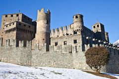 F�nis castle Stock Image