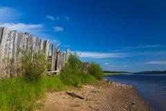 Fеnce di legno Fotografia Stock