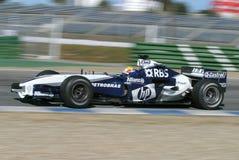 Fórmula 1 2005 estación, coche de BMW Imagen de archivo