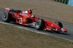 Fórmula 1 2005 estación, Ferrari Fotos de archivo