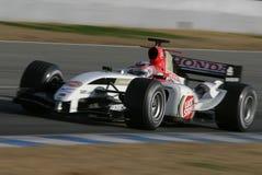 Fórmula 1 2005 estación, Jenson Button Imagenes de archivo