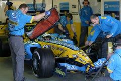 Fórmula 1 2005 estación, Juan Carlos Fisichella Fotografía de archivo