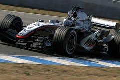 Fórmula 1 2005 estación, Juan Pablo Montoya Fotos de archivo