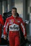 Fórmula 1 2005 estación, Michael Schumacher Imágenes de archivo libres de regalías
