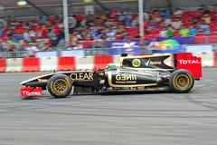 Fórmula 1 Imagen de archivo libre de regalías