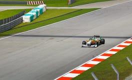 Fórmula 1, Adrian Sutil, fuerza la India de las personas Fotografía de archivo libre de regalías