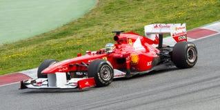 Fórmula 1 de Ferrari Imagens de Stock
