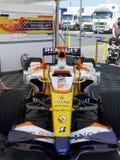 Fórmula 1 de Renault Fotografía de archivo libre de regalías