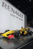 Fórmula 1 de Renault - de Genebra mostra 2010 de motor Imagem de Stock