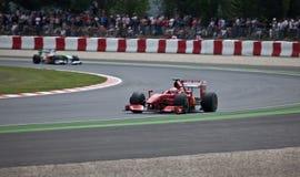 Fórmula 1: Ferrari Imágenes de archivo libres de regalías