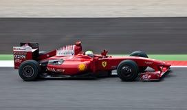 Fórmula 1: Ferrari Imagenes de archivo