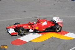 Fórmula 1 Mónaco Prix magnífico Alonso Fotos de archivo libres de regalías