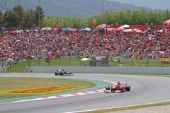 Fórmula 1 Prix magnífico Foto de archivo libre de regalías