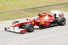 Fórmula 1 Prix magnífico de Malasia Sepang 2011 Fotos de archivo libres de regalías
