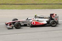Fórmula 1 Prix magnífico de Malasia Sepang 2011 Foto de archivo