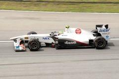 Fórmula 1 Prix magnífico de Malasia Sepang 2011 Fotografía de archivo libre de regalías