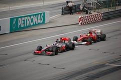 Fórmula 1 Sepang 2010 Fotografía de archivo libre de regalías
