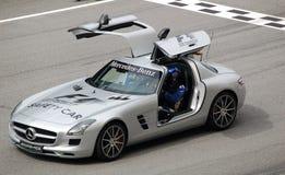 Fórmula 1 Sepang 2010 - coche de seguridad Imagen de archivo libre de regalías