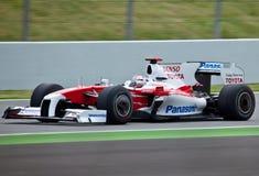 Fórmula 1: Toyota Foto de Stock