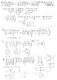 Fórmula Imagens de Stock