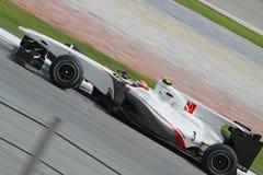 Fórmula 2010 1 - Prix grande malaio 22 Foto de Stock