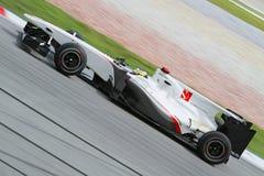 Fórmula 2010 1 - Prix grande malaio 28 Fotografia de Stock