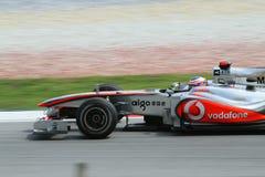 Fórmula 2010 1 - Prix magnífico malasio 21 Imágenes de archivo libres de regalías