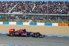 Fórmula 1 2015: Carlos Sainz Jr Fotos de Stock Royalty Free