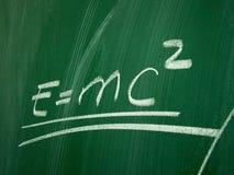 Fórmula da física Imagens de Stock Royalty Free